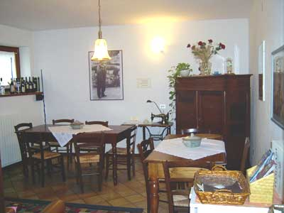 Salotto Bed and Breakfast Agriturismo Negrar Verona